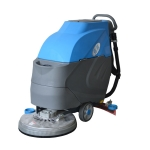 河南车间清洗地面洗地机,依晨电动工业洗地机YZ-530