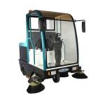物業保潔電動掃地車,依晨駕駛式工業掃地車YZ-JS2100
