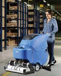 容恩手推式洗扫一体机R65RBT,物流公司工厂用洗地机