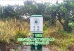 鐵路沿線警示標志+JN警示樁無堿玻璃鋼