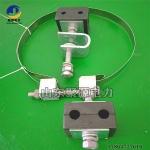 ADSS光纜桿用引下線夾 電桿固定牽引夾具