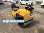 射阳县小型双钢轮座驾式压路机沃特自行式沟槽压土机价格
