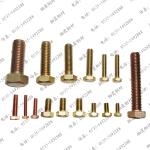 厂家直销半圆头铜螺栓,GB5781铜螺栓