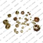 厂家直销铜滚花螺母,铜镶嵌螺母