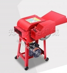 玉米杆饲料碎草机秸秆干湿两用粉碎机 小型220V铡草机