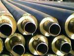 架空式钢套钢保温管/直埋式聚氨酯泡沫保温管施工简易