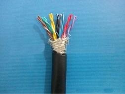 温州6芯柔性双绞屏蔽线TRVSP6*0.3防油黑色