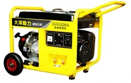 250A汽油发电电焊机两用机