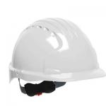代尔塔102101 PE无透气孔V型国际版安全帽