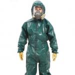 麦克罗加 MC4000绿色双袖连体防化服