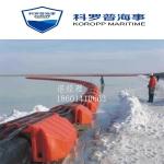 科罗普加工定做 拦污管道浮体 保护管子管道浮筒 近海浮筒