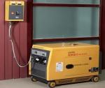 6kw三相静音柴油发电机