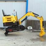 履帶式迷你挖掘機 1.2噸小型液壓挖掘機 液壓微型挖掘機 生