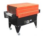 干果禮盒熱收縮機,化妝品噴氣式塑包機煙臺供應