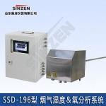 玻璃制品廠煙氣濕度氧氣監測一體機