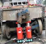 鐵水車用YFQ-TS160液壓復軌器