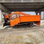 jx自制農用挖掘裝載一體機履帶隨車挖農用爬山虎隨車挖