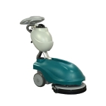 商用洗地机 手推式保洁用电动刷地机