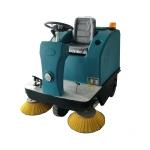 工厂道路清扫车 电动座驾扫地车喷水扫地车