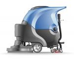 室内大厅地面擦地机 手推式免维护电动洗地机
