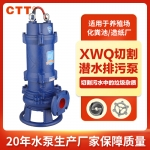 切割式污水泵化粪池排污泵无堵塞潜污泵带铰刀污水污物泵