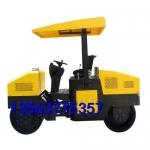 新荣区钢轮直径一米的三吨回填土驾驭式振荡压路机