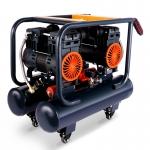 萬里牛乳膠漆油漆硅藻泥噴涂空壓機小型內外墻鋼結構彩鋼瓦氣泵
