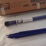 哈里斯HARRIS BK藍色藥皮焊條銅和不銹鋼焊接