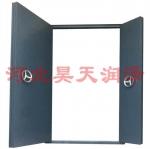 廠家直銷新款帶密碼鋼制高級防爆門窗-泄爆門窗-免費測量