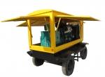 华全动力出售250kw移动拖车柴油发电机组