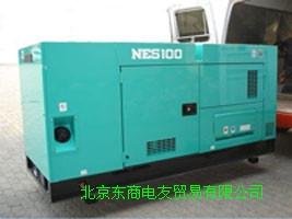 日本车辆原装进口低噪音发电机组NES25TI