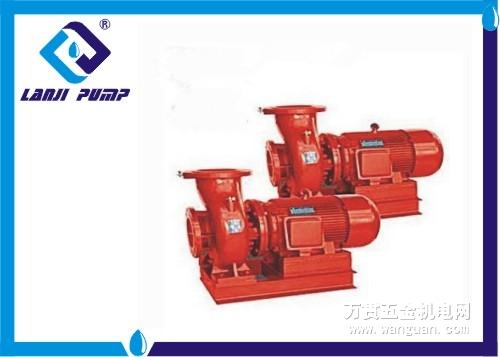 xbd-l型多级消防泵.由电机的泵两部分组成.