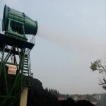 煤棚粉塵治理噴霧機 除塵防爆霧炮機