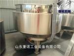 夹层锅的构造 食品级不锈钢夹层锅 秋梨膏煮锅