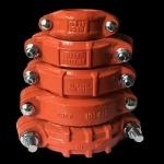 礦用管道卡箍   管道快速接頭   管箍