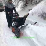 手扶式地面铲雪机 环卫公路螺旋毛刷式扫地机 现货直发