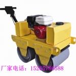 回头客厂家 沟槽双钢轮压道机 泥土砾石道路振动压路机