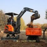 口碑廠家 家用農用履帶挖掘機 隧道工程挖土機