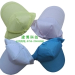 防靜電硬帽檐工作帽/高檔無塵帽/可調節防塵潔凈防護帽