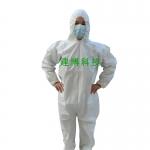 一次性连体防护服_无纺布连帽连体防护服 批发、零售