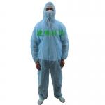 加厚一次性防護服 一次性衣服工作服連體服 防塵服 一次性連體
