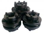 廠家直銷ZDJM帶脹緊套脹套膜片聯軸器錐套不銹鋼單雙膜片聯軸
