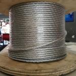 加工生產304不銹鋼鋼絲繩 316包膠鍍鋅鋼絲繩