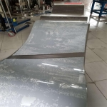 加工定制金屬打孔焊接不銹鋼超薄輸送帶 可來圖加工生產