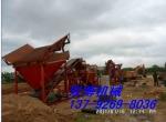 山东烟台水洗山沙筛沙破碎型洗沙机生产线60轮斗、细沙无流失