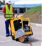 轻型设备大功率储备德国威克BFS20D手扶式路面切缝机