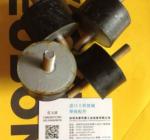 明显减震 RSS800手扶式单钢轮压路机减震胶块
