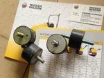 耐磨黑胶RSS800压路机配件减震胶块