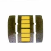 DW-L10橡胶减速带 成都哪里卖得好
