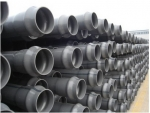 多联塑胶供应伟邦牌PVC-M灰色高抗冲击给水管材管件